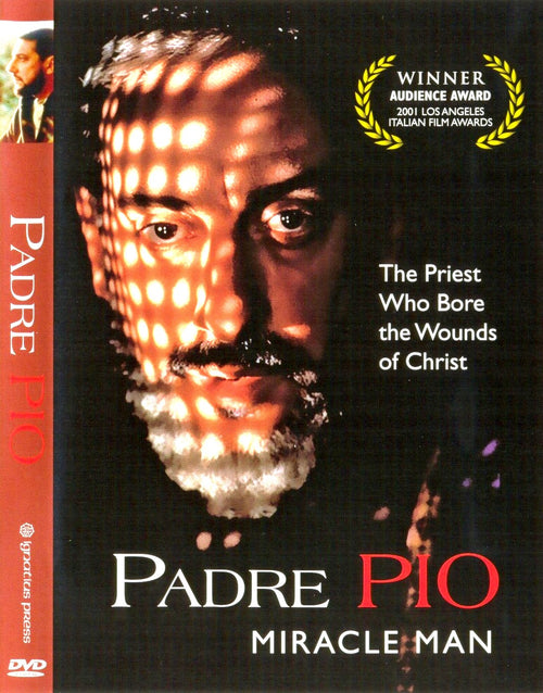In Santa María del Monte, our goal is to evangelize and our products help us to do so, that is why we present you the DVD Padre Pio - Miracle Man Find it in our DVD's section and help us carry the message of Christ. Our products speak for themselves