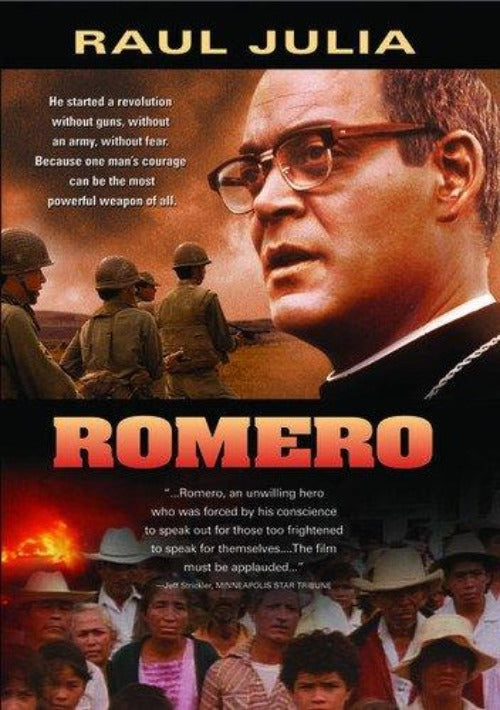 Romero is a compelling and deeply moving look at the life of Archbishop Oscar Romero of El Salvador, who made the ultimate sacrifice in a passionate stand against social injustice and oppression in his country. This film chronicles the transformation of Romero from an apolitical, complacent priest to a committed leader of the Salvadoran people.