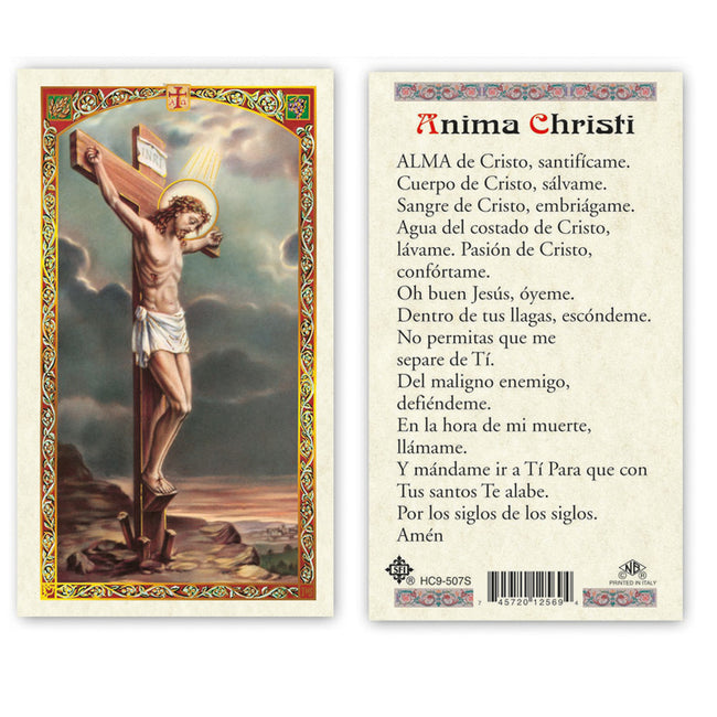 Cristo Crucificado /Crucified Christ - Estampa/Holy card