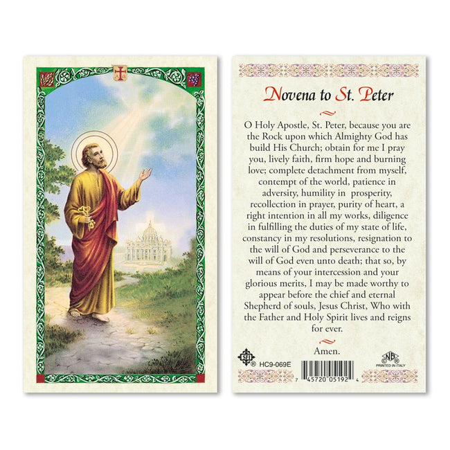 San Pedro/ San Peter - Estampa/Holy card