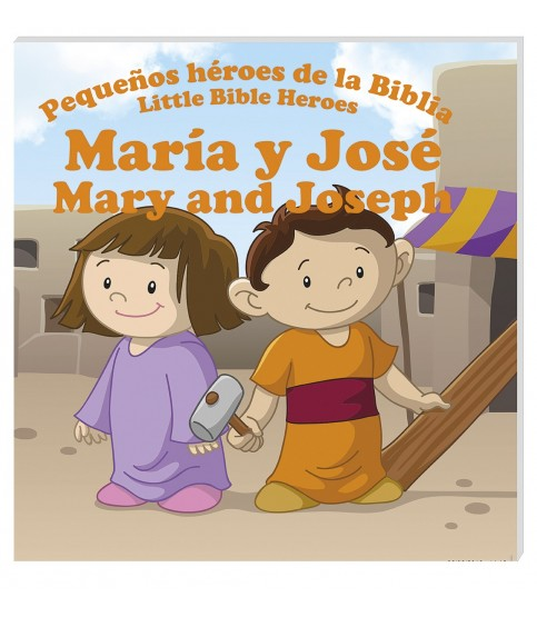 In Santa Maria del Monte our goal is to evangelize and our products help us to do so, this is why we present you this book that narrates the story of Mary and Joseph.Discover the true and amazing stories of young children in the Bible that made a huge difference in changing their part of the world.This book is bilingual for the comfort of your children.Enjoy it and help us carry the message of Christ. Be part of Our Mission!  Our products speak for themselves.