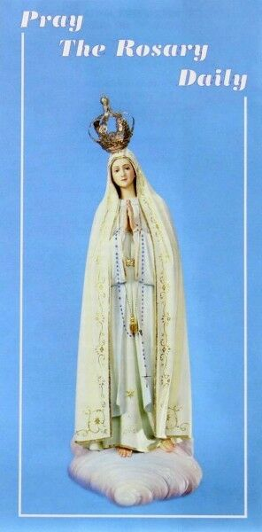 Pamphlet:  Pray the rosary daily