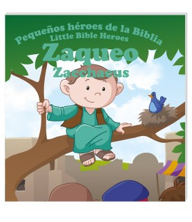 In Santa Maria del Monte our goal is to evangelize and our products help us to do so, this is why we present you this book that narrates the story of Zacchaeus.Discover the true and amazing stories of young children in the Bible that made a huge difference in changing their part of the world.This book is bilingual for the comfort of your children.Enjoy it and help us carry the message of Christ. Be part of Our Mission!  Our products speak for themselves.
