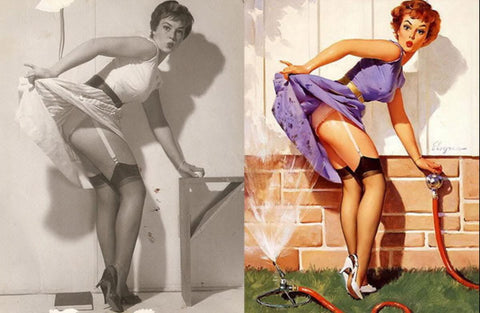 The Real Inspiration Behind the 1950s Pin Up Poster Girls