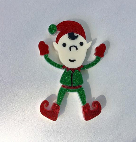 Eric the Elf Brooch