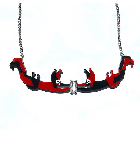 Flick & Turn Trapeze Artist Necklace