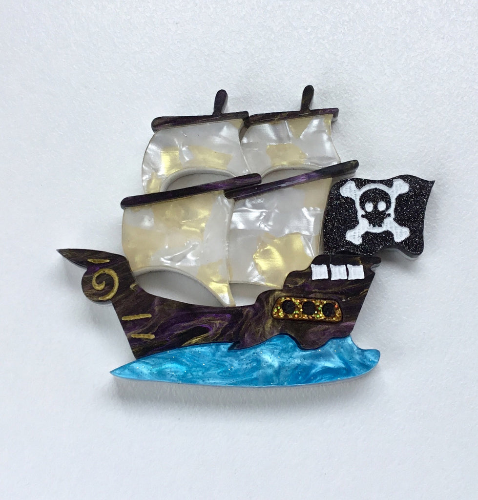 Jolly Roger Brooch
