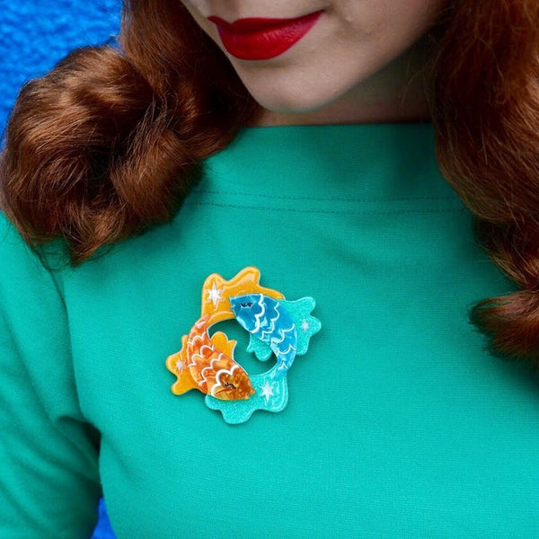 Pisces the Philanthropic Brooch