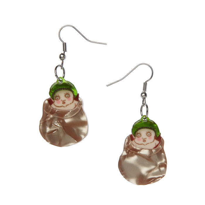 Snugglepot Earrings