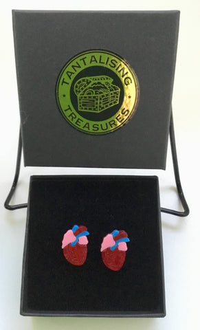 Be Still My Beating Heart Cuff Links