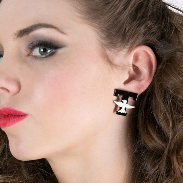 T - Birds Earrings