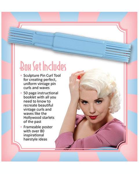 Sculpture Pin Curl Tool