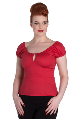 Melissa Top - Red