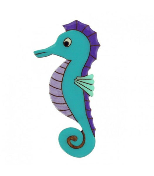 Under the Sea - Seahorse Brooch