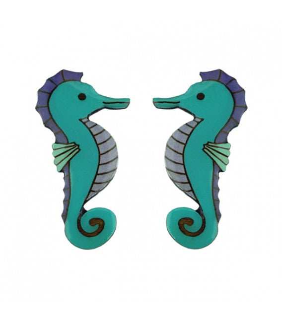 Under the Sea - Seahorse Earrings