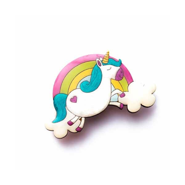 Unicorns & Rainbows - Unicorn Brooch