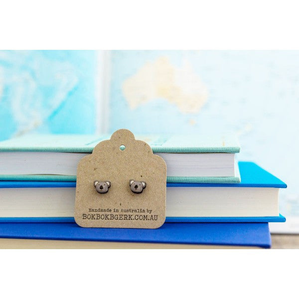 Australiana - Koala Earrings