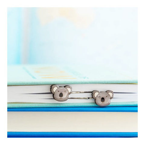 Australiana - Koala Hairclips