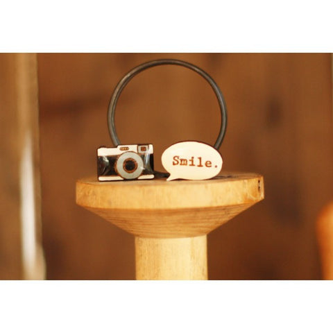 "Camera ""Smile"" Earrings"