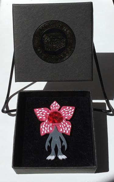Demogorgon Brooch