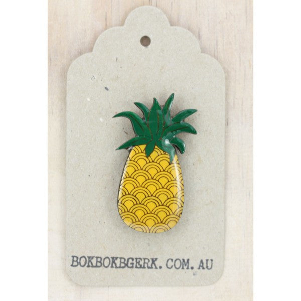 Fruity Pineapple Brooch