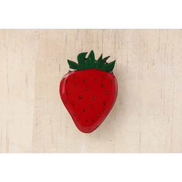 Fruity Strawberry Brooch