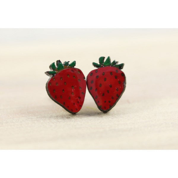 Fruity Strawberry Earirngs