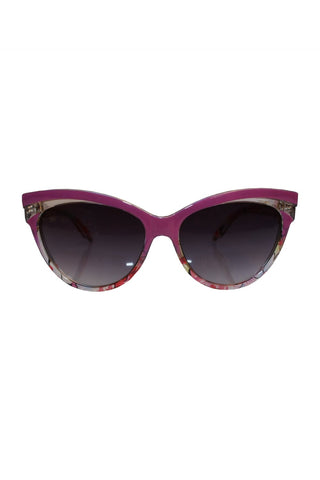 Judy Floral 50's Sunglasses
