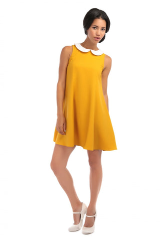 Nia Plain Baby Doll Dress
