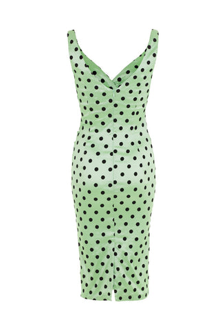 Selena Polka Dot Taffeta Dress