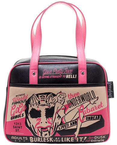 Burlesque Bowler Purse