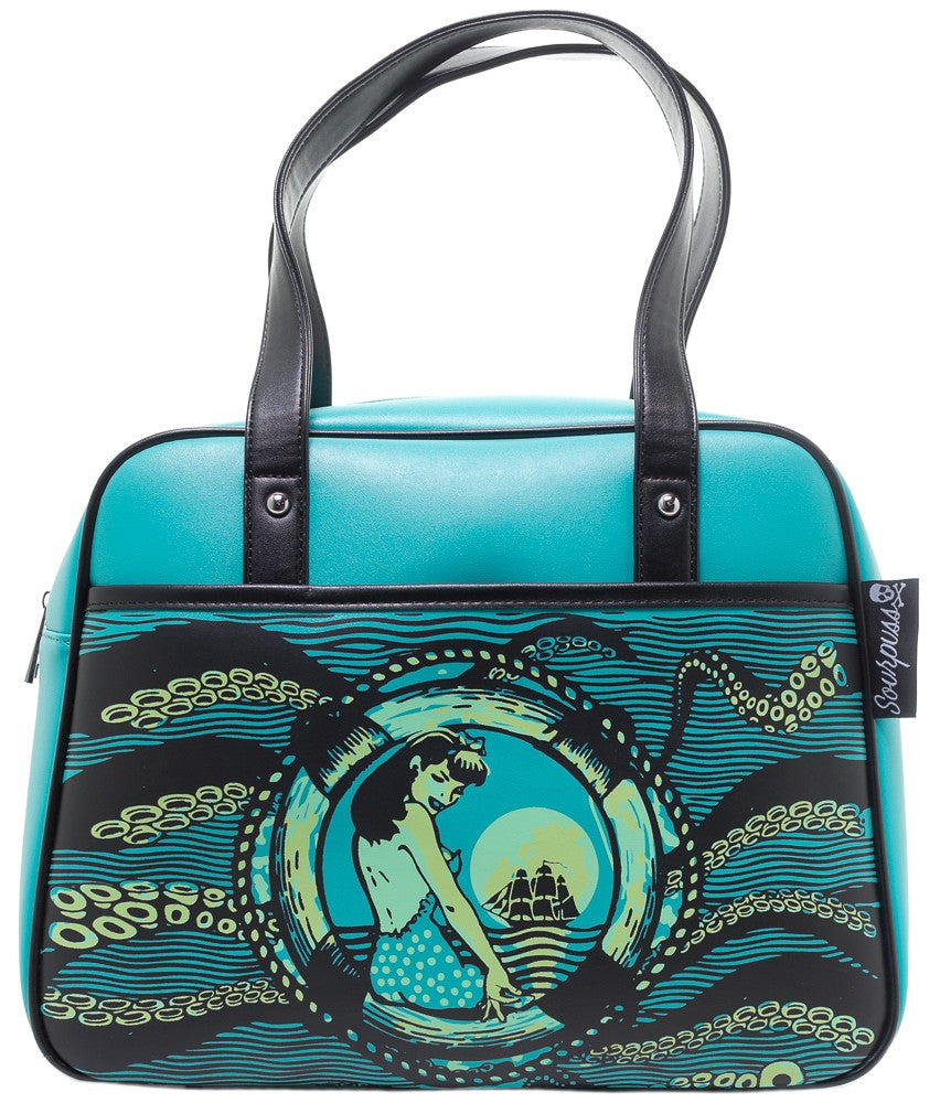 Tentacled Bowler Purse