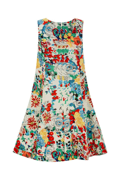 Tessa 60's Summer Floral Dress