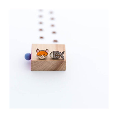 Theodore & Friends - Theodore the Cat Earrings