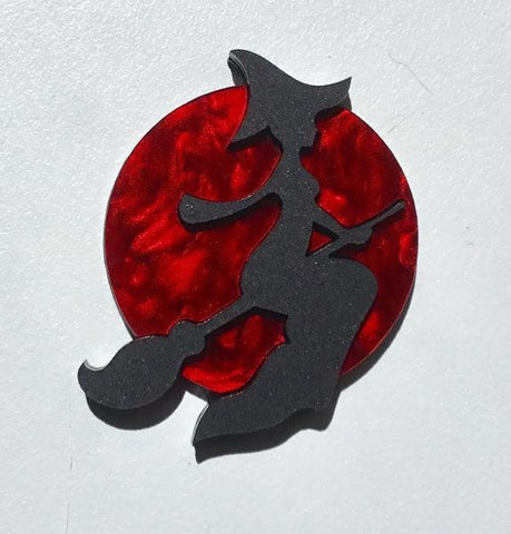 Blood Moon Brooch