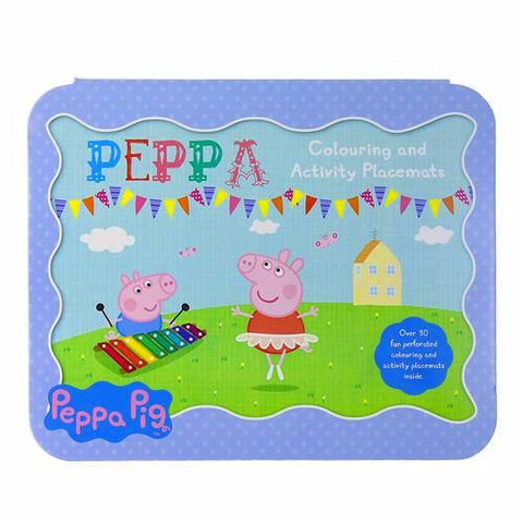 Peppa Pig Colouring and Activity Placemats K0195