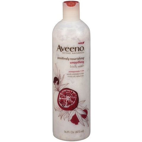 Aveeno Smoothing Body Wash (473 ml) B0252