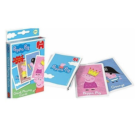 Peppa Giant Playing Cards K0362