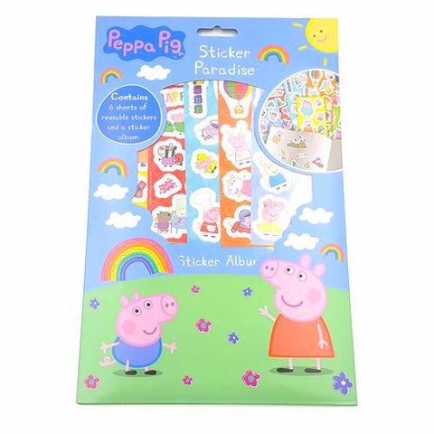 Peppa Pig Sticker Paradise K0538