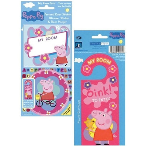Peppa Pig My Room Sticker Pack K0695