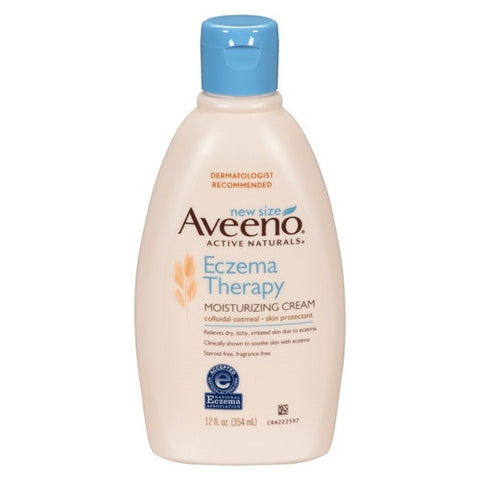 Aveeno Eczema Therapy Moisturing Cream (354ml) B0749
