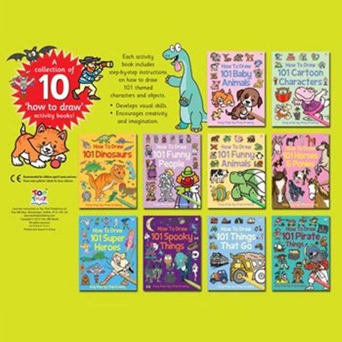 How To Draw - 10 Books Collection K0760
