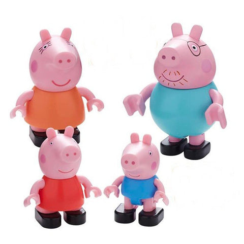 Peppa Family Construction Figure Pack K0960