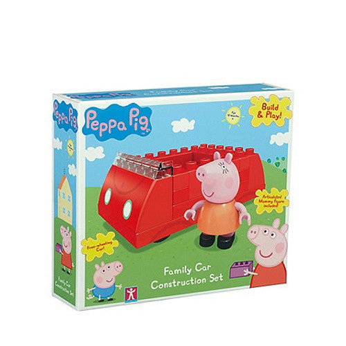 Peppa Pig Family Car Construction Set K0962