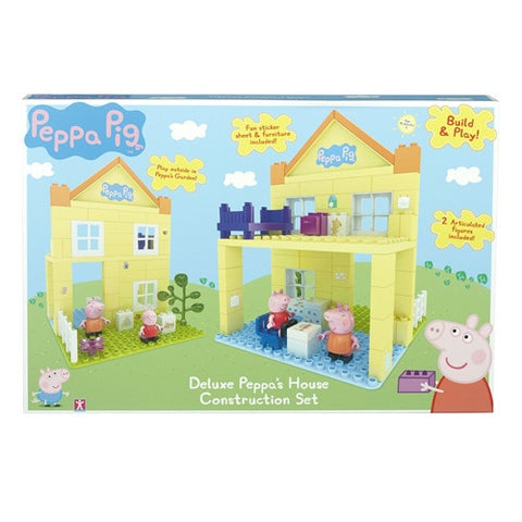 Deluxe Peppa's House Construction Set K0967