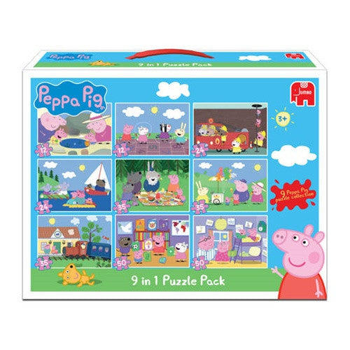 Peppa Pig 9 in 1 Puzzles K0974