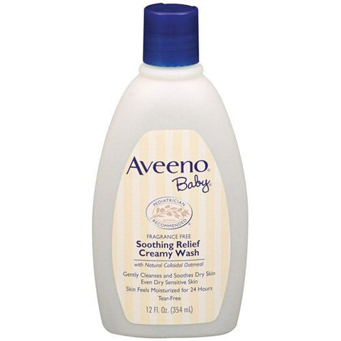 Aveeno Baby Soothing Relief Creamy Wash 354ml K1024