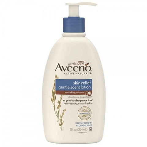 Aveeno Skin Relief Gentle Scent Lotion - Nourishing Coconut 354ml B1031