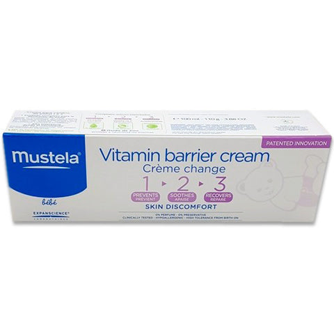 Mustela Vitamin Barrier Cream 123 - 100ml K1062