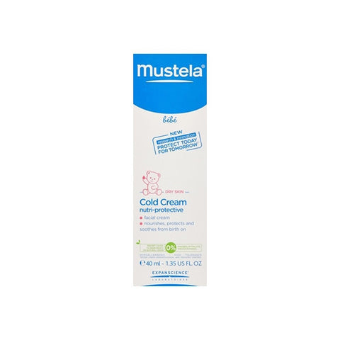 Mustela Cold Cream - Facial Cream for Dry Skin 40ml K1064